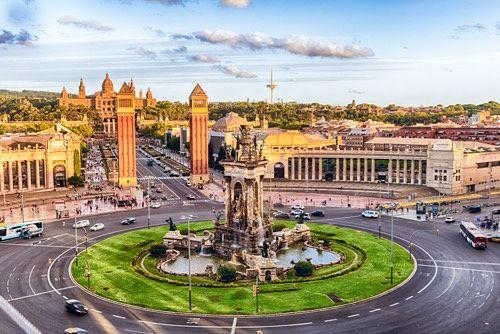 Plaza España Barcelona