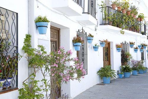 Dorf Spanien