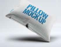 Blue Modern Pillow