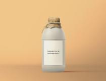 White Bottle Design